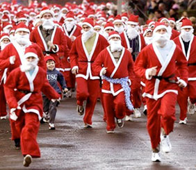Santa on the Run - Santa Fun Run